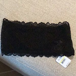 Free People Intimately lace bandeau bra, NWT